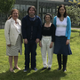 Dr. Patricia Moriarty - (Head of School of Business and Humanities); Padraic Geoghegan - Social Care graduate and Global Undergraduate Award Winner 2018; Dr. Bernadette Brereton - Research Supervisor and (Acting) Programme Director Social Care; Dr. Annaleigh Margey - (Acting) Head of Department (Humanities)