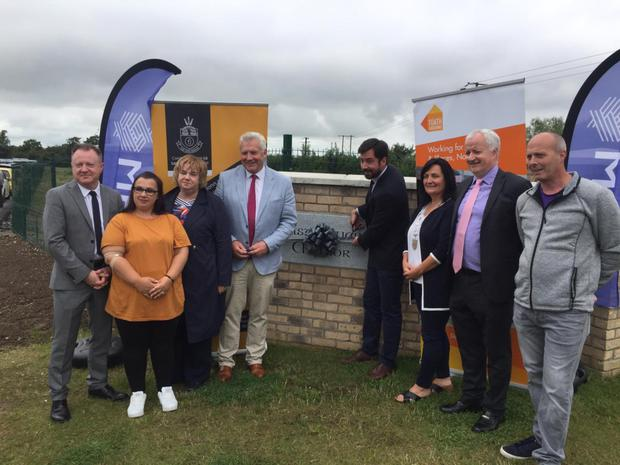 Minister Murphy opens the new estate in Ardee