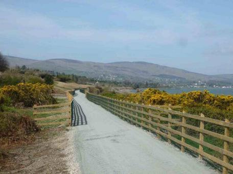 The Kerry Greenway is designed for 1,500 cyclists and walkers a day