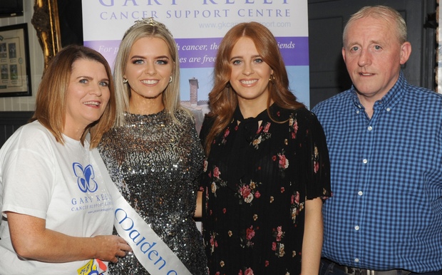 Angela, Bronagh, Orla and Dixie Quinn at a fundraising night in Kehoe's Bar, Quay Street in aid of The Gary Kelly Centre. Photo: Aidan Dullaghan/Newspics