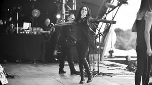 Andrea Corr on stage at BBC Radio 2's Live at Hyde Park. Picture courtesy of BBC