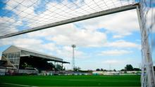 A general view of Oriel Park, home of Dundalk FC. Photo by David Fitzgerald/Sportsfile