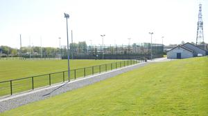Dundalk Gaels GFC have been granted permission for new floodlights and other works. Photo: Aidan Dullaghan / Newspics