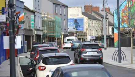 Bridge Street, Dundalk. Photo: Aidan Dullaghan / Newspics