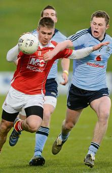 Cathal Bellew's goal wasn't enough to give Louth victory over Cavan at St Brigid's Park.