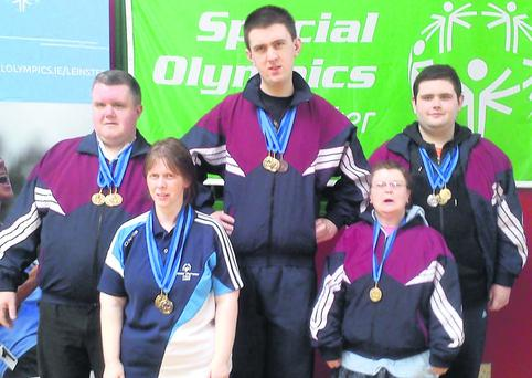 The talented swimmers from Dundalk Special Olympics Club who brought home an amazing ten gold medals, one silver and one bronze from the regional finals in Co. Kildare last weekend.