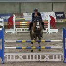 Birthday Boy: Owen McCamley who recently turned 21 had another good day at Ravensdale Lodge on Thursday, going clear in the 1.20m class with Belle De Reve Z in the SJI registered horse league
