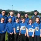 Part of the St Peter's AC contingent who competed in Liverpool