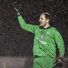 Sligo Rovers goalkeeper Gary Rogers