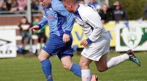 Paul Murphy (Northend Utd) Dean Young(Liffey Wanderers FC)