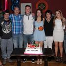 In The Sailing Cot on Saturday night there was a double 18th birthday celebrations for Shane Bates and Amy Rochford