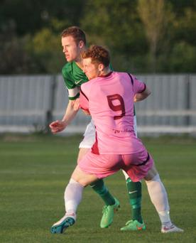 Conor English (Wexford Youths) Kevin O'Connor ( Cork City)