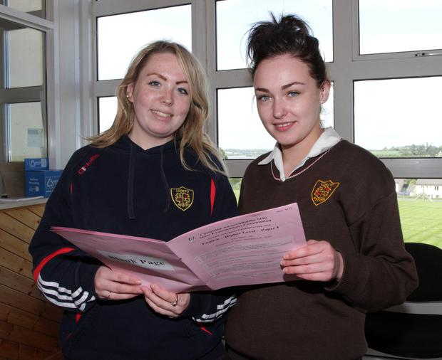 Students protest against 'unfair' ordinary maths paper