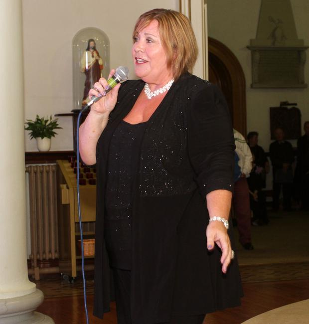 Mary Byrne was guest of the Wexford Ladies Choir in the Friary on Friday evening for their annual concert. Mary Byrne guest performer