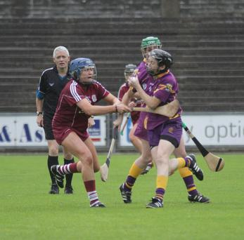 Shelly Kehoe (Wexford) Emma Kilkelly (Galway)