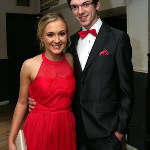 Eimer Rose Kealy and Colm Murphy. Colaiste Brid, Carnew Debs. Photo Joe Byrne