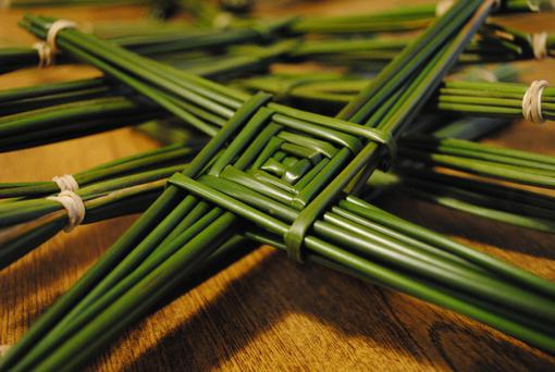 A St Brigid's Cross