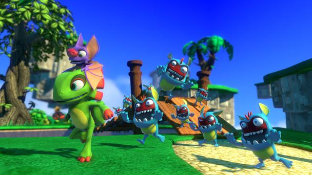 Unfortunately, rushed level design, a lack of content and some shoddy camera-work put the brakes on the experience in Yooka-Laylee