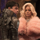 Dane DeHaan as Major Valerian as Rihanna as Bubble in Valerian And The City Of A Thousand Planets