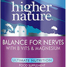 Higher Nature Balance for Nerves is a natural remedy that could help tackle anxiety
