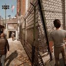 The dynamic split-screen is one of A Way Out's strongest points, with each player's screen size shifting to accommodate each character's big moments.