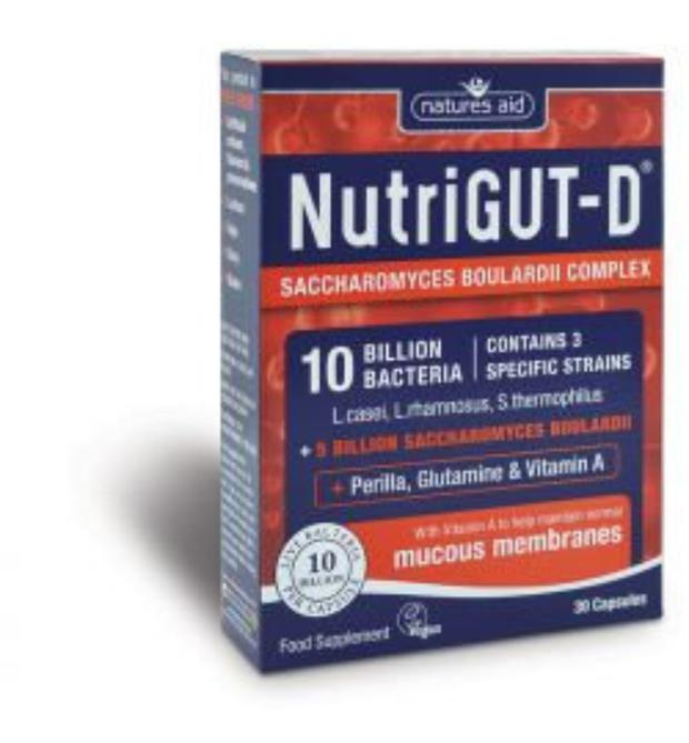 NutriGut D is especially useful for anyone who suffers from abdominal pain, diarrhoea, food intolerance, and leaky gut
