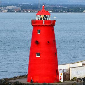 The 20m-high Poolbeg lighthouse was rebuilt in 1820 to replace an original structure erected in 1768