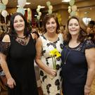 Miriam Mahon, Mary Molloy (Daffodil Day Coordinator, Irish Cancer Society) and Elaine Pearse at the Greystones Rugby Club Ladies Day