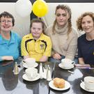 Una Maguire, Alison Day, Emma Barry and Orla Day enjoying the Bray Lakers coffee morning at the Martello