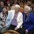 Maureen McGuinness, Breda Murphy, Anne Brierton and Bernie Mohan enjoying the Showband Night at the Parkview, Newtownmountkennedy