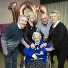 Kathleen Byrne recently celebrated her 100th birthday at the Cairnhill Nursing home, where she was joined in the celebration by her children Declan, Ronnie, Brendan and Muriel