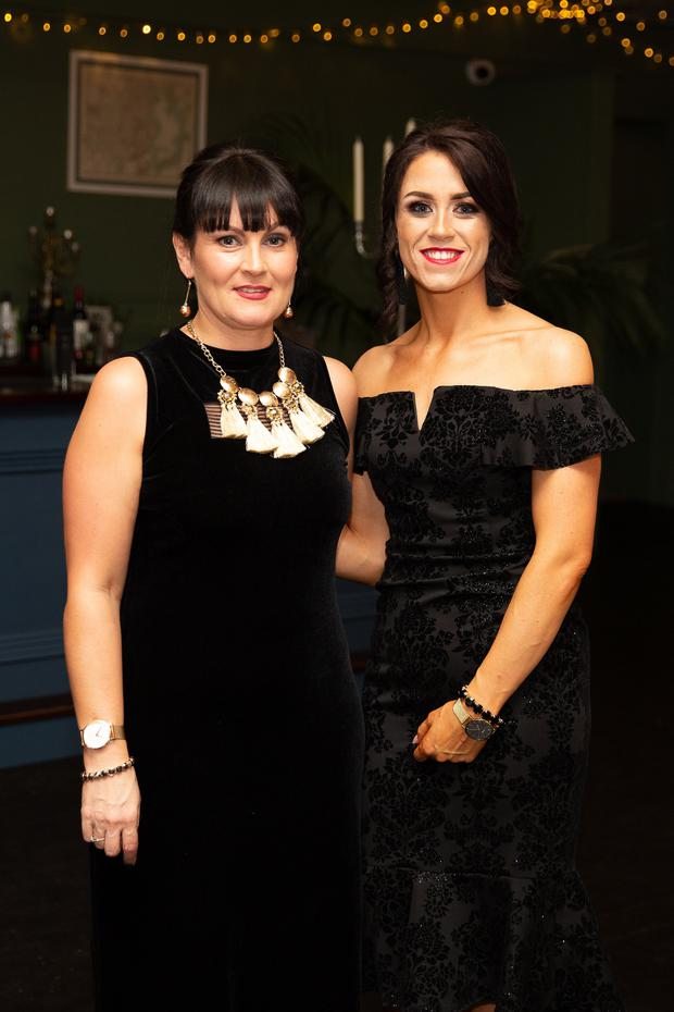 Allison Doyle and Aisling Healy at the Slimming World Wicklow Oscars Ball in Tinakilly House