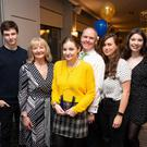 Evin Kierans, Derval Kierans, Robyn Kierans, Paul Kierans, Jodie Mitchell, Dillon Ashmore and Sophie Harman at the Wicklow Garda Youth Awards in the Parkview Hotel, Newtownmountkennedy