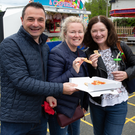 Mark Poveda, Angie Poveda and Valerie Doherty enjoying the fun day at St Marys and St Gerards Enniskerry NS