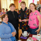 Rosemary McDonald, Ruth Prenderville, Breda Shannon and Ann-Marie Elliott at the 'Cups Against Cancer' coffee morning in the Parkview Hotel, Newtownmountkennedy