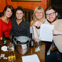 Emma Dunphy and Fiona, Patricia and Luke Fitzpatrick taking part in the table quiz for Bray Seniors the Coach Inn