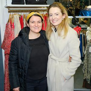 Maria Webb and Avril Harrington enjoying Greystones Ladies' Night at Escape Boutique