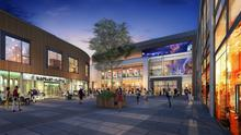 An artist's impression of Bray Town Centre plans