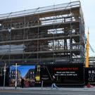 Work continues on the Bray Town Centre site off Main Street