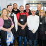 The team and volunteers for the Christmas Day dinner at WH Five Loaves in Bray