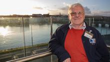 Historian Jim Rees by the Avoca River in Arklow