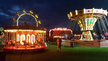 Carnivale at night time