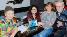 Artemis Kent, Deirdre Ridgway, Anne McGennis and Grey Mulvaney at the Signal Arts table quiz