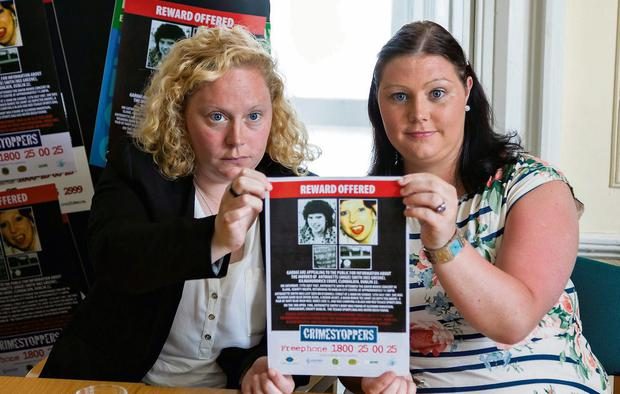 Lisa and Rachel have made a fresh appeal on the 26th anniversary of the murder and Crimestoppers has confirmed 'a significant reward' had been offered in a bid to catch the killer.