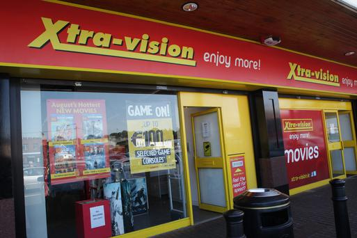 Xtra-vision in the Castle Street Shopping Centre