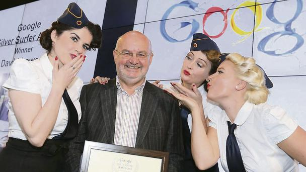 Google Silver Surfer Awards with Age Action. Picture Conor McCabe Photography