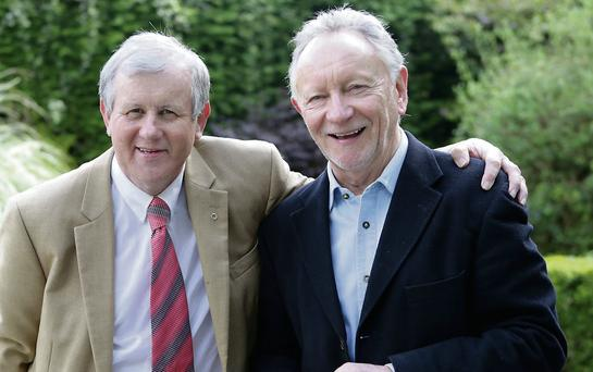 Brendan Thornhill is endorsed by Phil Coulter at his campaign launch