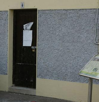 Public Toilets locked at Greystones Harbour