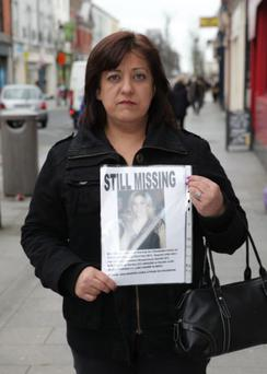 Berna Fidan, sister of missing Esra Uyrun, revisits Bray to appeal for information and to raise awareness that her sister is still missing