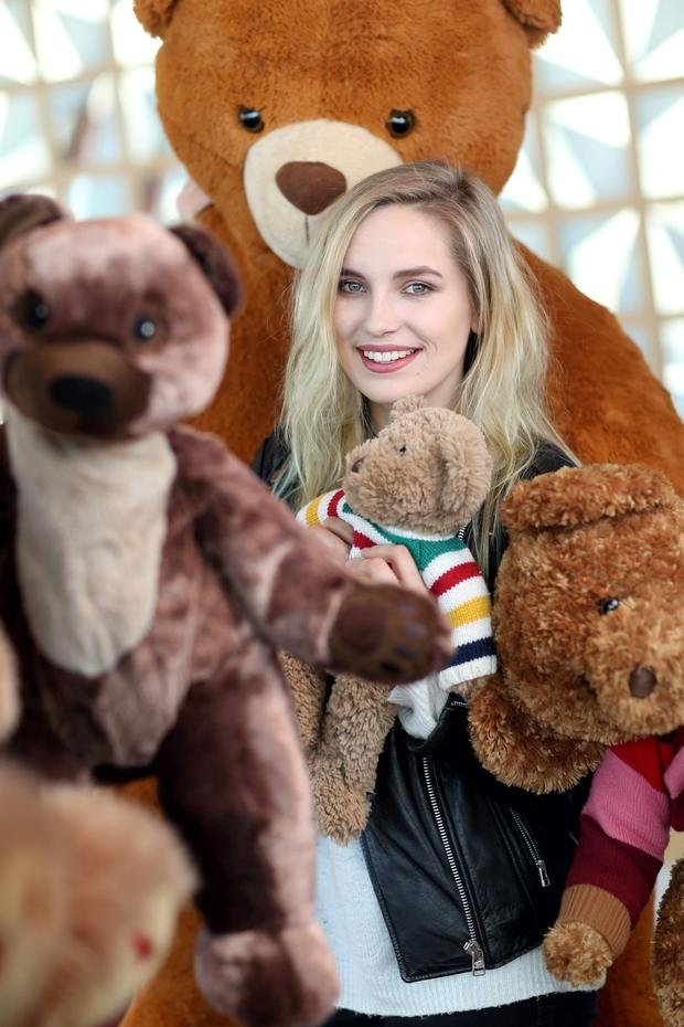 Irish Eurovision hopeful Molly Sterling (17) launched The Great Bear Chain